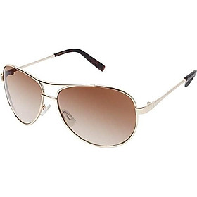 Jessica Simpson J106 Metal Aviator Sunglasses with 100% UV Protection, 60 mm