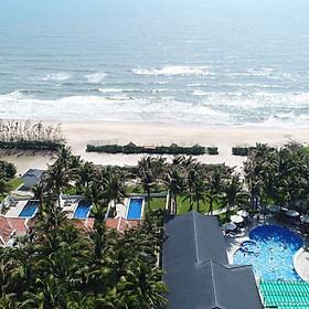 TTC Premium Resort 4* Kê Gà - Buffet Sáng, Hồ Bơi, Bãi Biển Riêng, Địa Điểm Check In Cực Đẹp