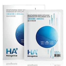 Mặt Nạ Neogence Dưỡng Ẩm Với 9 Loại Tinh Chất Hyaluronic Acid (33ml x 5 Miếng)