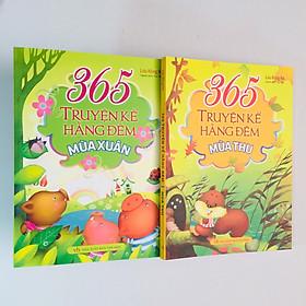 Combo 2 cuốn - 365 Truyện Kể Hằng Đêm  - Mùa Xuân - Mùa Thu