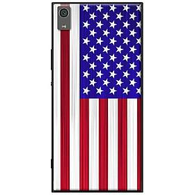 Ốp lưng dành cho  Sony Xperia XA1 Ultra  mẫu Lá cờ Mĩ