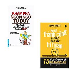 Combo 2 cuốn sách: Khám Phá Ngôn Ngữ Tư Duy + Người thành công không bao giờ trì hoãn