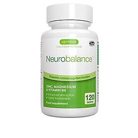 Neurobalance, Zinc Picolinate, Magnesium & Vitamin B6 Supplement for Adults & Children, 120 Tablets