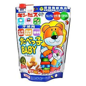 Bánh Ăn Dặm Hình Thú DHA 12 Tháng Nội Địa Nhật Bản (Tặng trà sữa / Cafe Macca)