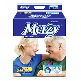 Tã dán Người lớn Merzy M/L 10  (10 miếng)