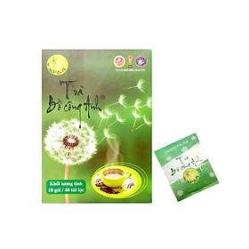 Trà Bồ Công Anh P&K - mát gan, giải độc, ngừa ung thư (10 gói/40 túi lọc) - Hộp đẹp, cao cấp thích hợp làm quà tặng