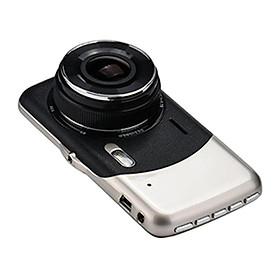 Camera hành trình cao cấp D300 màn hình lớn 4.0 Inch Full HD 1296P có camera lùi
