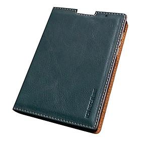 Bao Da Blackberry Passport IOne Da Bò Màu Xanh Trơn - Hàng Nhập Khẩu
