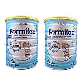 Bộ 2 Lon Sữa công thức Formilac Optipro số 4 (trên 2 tuổi) - 900g