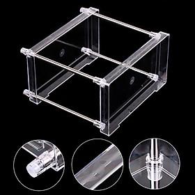Multi-functional 2-Tier Cosmetic Organizer Tray Storage Shelf Caddy Stand for Bathroom Vanity Countertop