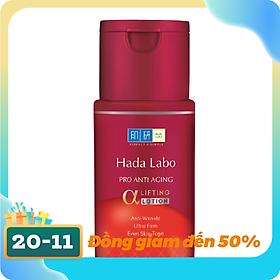 Dung dịch dưỡng chuyên biệt chống lão hóa Hada Labo Pro Anti Aging α Lifting Lotion (100ml)
