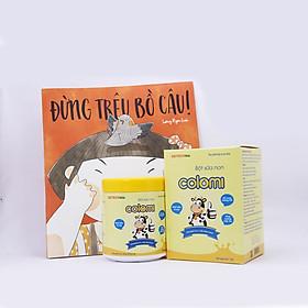 Bột sữa non Colomi 51% sữa non được nhập khẩu từ Mỹ cho bé hộp 130gr + tặng kèm sách cho bé - Đừng trêu bồ câu