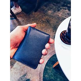 Ví xếp gọn da bò thật, ví nam da bò thật dập vân saffiano, thiết kế nhẹ nhàng sang trọng, dùng trong các chuyến đi du lịch, dùng đi làm, dạo phố tiện lợi chiếc ví dùng đựng các loại thẻ ATM