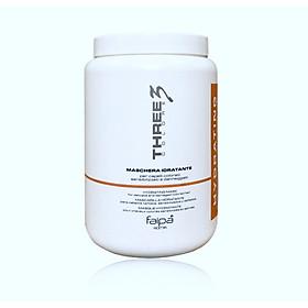 Dầu hấp ủ tóc Faipa Three3 Colore Maschera Hydrating mask dưỡng ẩm siêu mượt 1500ml