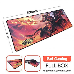 Miếng Lót Chuột Gaming Full Box - Nhiều hình
