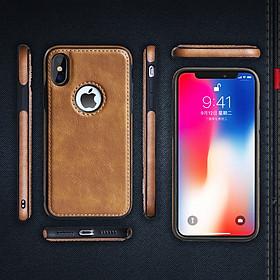 Ốp lưng da cao cấp dành cho iPhone X và  iPhone XS