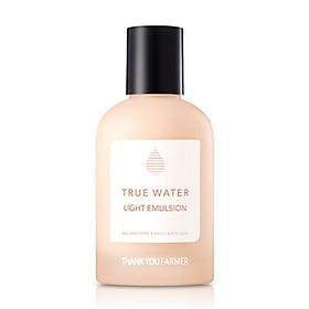 Sữa dưỡng da Thank You Farmer True Water Light Emulsion 135ml