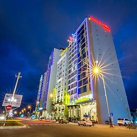 [KM Thu Đông] Dana Marina Hotel 4* Đà Nẵng - Gần Biển, Buffet Sáng, Hồ Bơi, Khách Sạn Mới