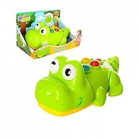 Cá sấu biết bò có nhạc Winfun tặng xe trượt đà cho bé VBCare-123-6 (ngẫu nhiên)