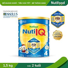 Sữa Bột Nuti IQ Gold 4 1.5kg
