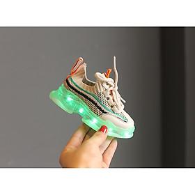Giày thể thao phát sáng cho bé trai bé gái - Giày thể thao đèn led cho bé 1-15 tuổi có công tắc và sạc điện usb