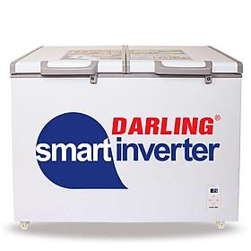 TỦ ĐÔNG MÁT INVERTER DARLING 450 LÍT DMF-4699WSI ĐỒNG (R134A) - hàng chính hãng