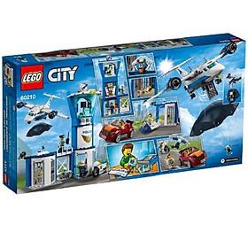 Mô hình đồ chơi lắp ráp LEGO CITY Trạm Cảnh Sát Bầu Trời 60210 ( 529 Chi tiết )