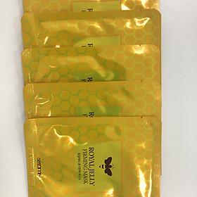 Combo 10 mặt nạ sữa ong chúa đàn hồi Hàn Quốc Sesamis Royal Jelly Firming Mask