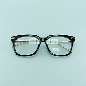 Kính mát nữ - GCD007 - Mắt kính giả cận nam nữ - Kính giả cận gọng đen