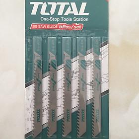 Bộ 5 lưỡi cưa lọng (Cưa gỗ) Total - TAC51111C