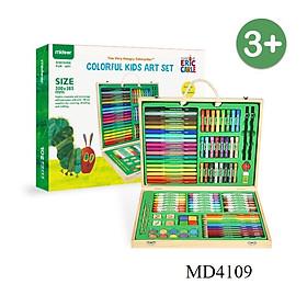 Vali màu vẽ 102 món an toàn cho bé hãng Mideer - Color Kid Art Set
