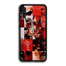 Ốp lưng Harry Potter cho điện thoại Samsung Galaxy A50 - Viền TPU dẻo - 02104 7786 HP06 - Hàng Chính Hãng