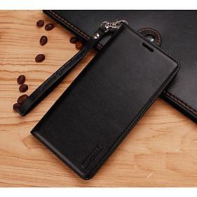 Bao da dạng ví dành cho OPPO Reno 4 Pro chính hãng Hanman có quai cài
