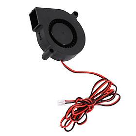 Quạt Làm Mát Không Chổi Than PCB 5015 Quạt Làm Mát Turbo 2 Pin Cho Máy In 3D