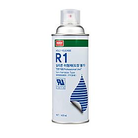 Chai xịt Dầu tách khuôn đúc R1 (R-1) NABAKEM 420ml cho sản phẩm đúc không phủ sơn NABAKEM, dầu tách khuôn R1 NABAKEM, Bôi trơn và chống dính khuôn