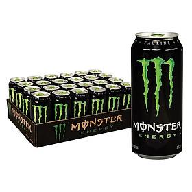 Lốc 24 Lon Nước Tăng Lực Monster Energy (355ml x 24)