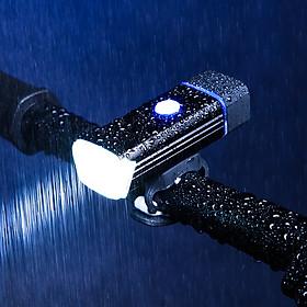Đèn led siêu sáng 3 chế độ ánh sáng cho xe đạp có móc kẹp cao su