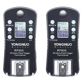 Bộ Kích Đèn Trigger Yongnuo 605 LCD Digital - Hàng Nhập Khẩu