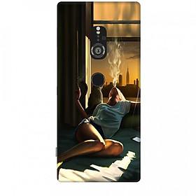 Ốp lưng dành cho điện thoại SONY XZ2 Cô Đơn Mình Em
