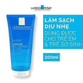 Gel Tắm Làm Dịu, Bảo Vệ Cho Da Nhạy Cảm Và Da Em Bé La Roche-Posay Lipikar Shower Gel (200ml)