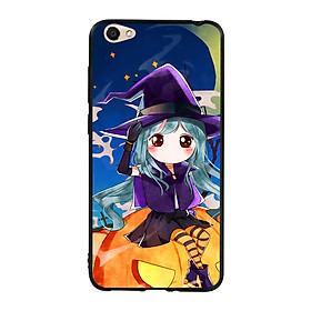 Hình đại diện sản phẩm Ốp lưng Halloween viền TPU cho điện thoại Vivo Y55 - Mẫu 04
