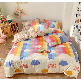 Bộ chăn ga gối cotton LIDACO PL1 - Sweet Dreams (SP001356)