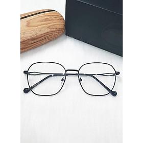 Kính bảo vệ mắt chống áng sáng xanh gọng kim loại kavi132 màu đen