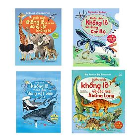 Big Book - Cuốn Sách Khổng Lồ Về Các Loài Động Vật Biển + Động Vật Khổng Lồ + Khủng Long + Những Con Bọ (4 Cuốn)