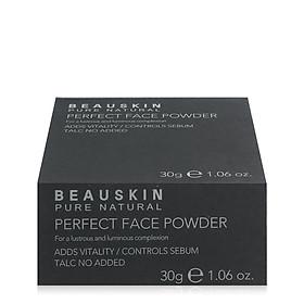 Phấn Bột Kiềm Dầu Và Cân bằng ẩm Beauskin Perfect Face Powder (30g) - #21 - Hàn Quốc Chính Hãng-2