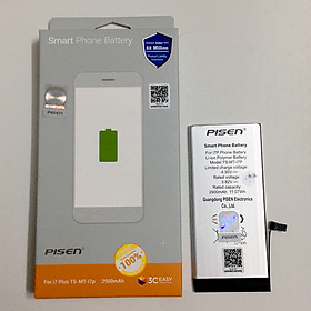 Pin Cho iPhone 7 Plus Pisen - Hàng Chính Hãng