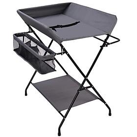Giường thay tã xếp gọn, chống đau lưng cho mẹ C1-ST3849