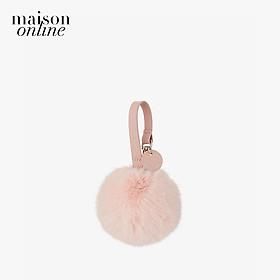 Marhen.J - Móc khóa túi hình tròn Cotton Candy Fur Charm MJ19CCANDY-LP