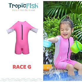 Đồ bơi chống nắng cao cấp cho bé gái Race G TropicFish - TropicFish Baby Swimwear Race G