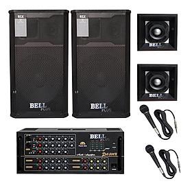 Combo Dàn nhạc và hát karaoke BellPlus RSX - 4 tấc